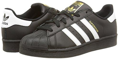 superstar adidas schwarz kinder