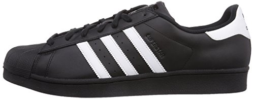 adidas superstar foundation herren sneakers schwarz core black ftwr white core black 42 2 3. Black Bedroom Furniture Sets. Home Design Ideas