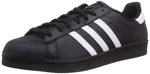 adidas superstar foundation herren sneakers schwarz core black ftwr white core black 41 1 3. Black Bedroom Furniture Sets. Home Design Ideas